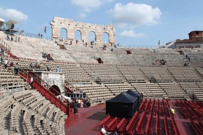 Opernfestspiele in der Arena di Verona- Aida u. Nabucco